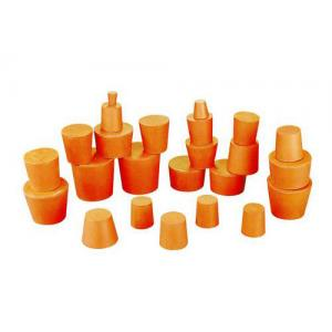 RUBBER STOPPERS SOLID, SIZE 3, TOP 19MM, BOTTOM 14MM. PK10