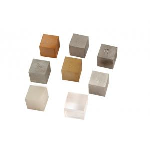 Metal Cube Brass, 20mm