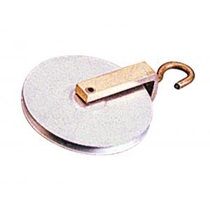 Aluminium Pulley 38mm - Single, One hook