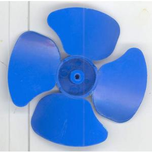 Blue Plastic Fan