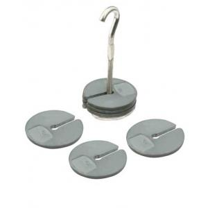 Masses Spares 50G, Slotted, Zinc